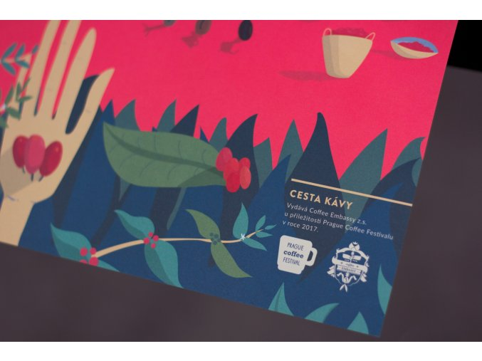Plakát Cesta kávy