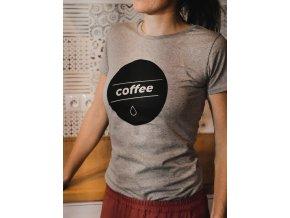 Tričko Coffee dámské