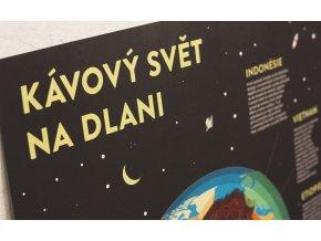 Plakát Kávový svět na dlani