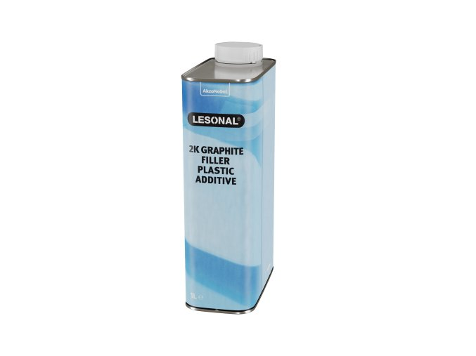 les 2k graphite filler plastic additive 1l