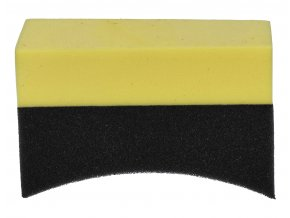 BTS 12 Black tyre gel applicator sponges 1