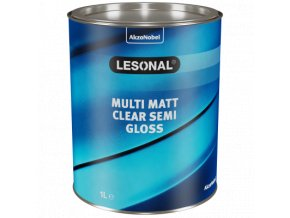 les multi matt clear semi gloss 1l