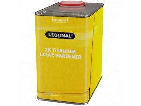les 2k titanium clear hardener 25l
