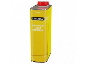 les multi matt clear hardener 1l