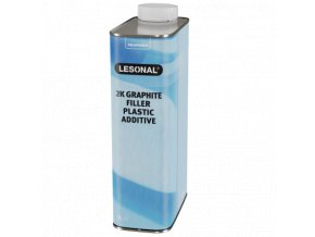 les 2k graphite filler plastic additive 1l