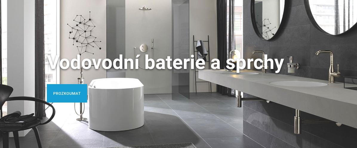 Vodovodní baterie a sprchy