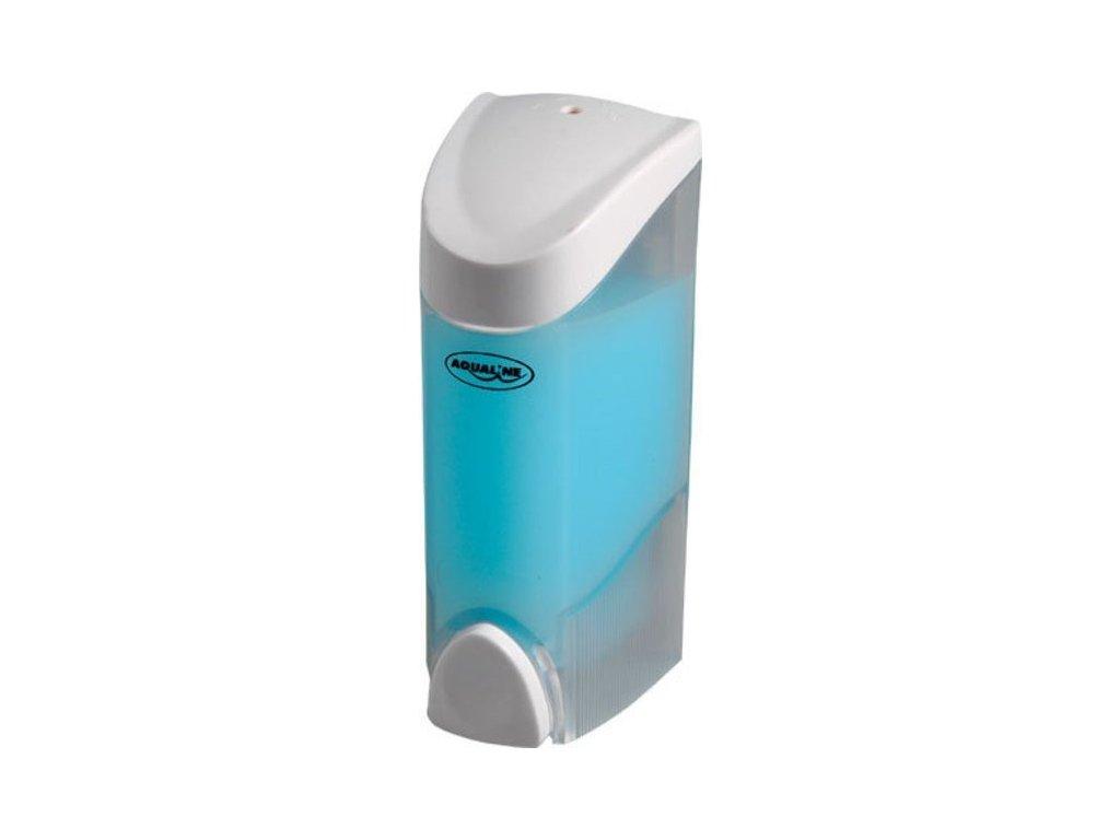 Dávkovač tekutého mýdla nástěnný 300ml, bílý