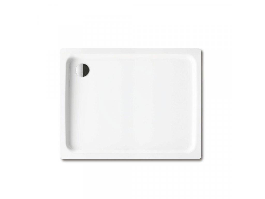 Obdélníková sprchová vanička Duschplan 417-1, 750 x 1200 mm, bílá - sprchová vanička, antislip, Perl-Effekt, bez polystyrénového nosiče