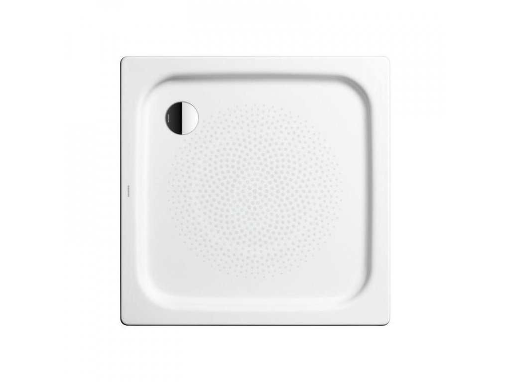 Obdélníková sprchová vanička Duschplan 418-1, 900 x 1000 mm, bílá - sprchová vanička, antislip, Perl-Effekt, bez polystyrénového nosiče
