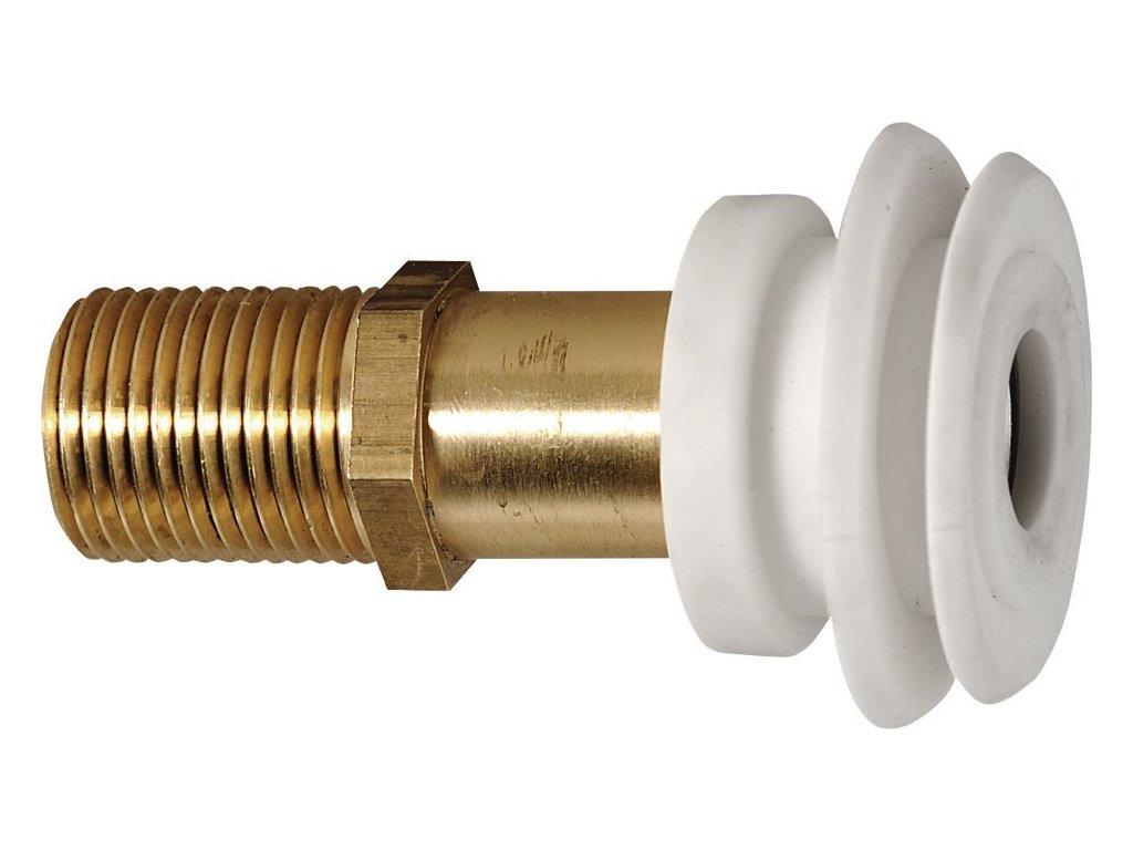 Vtoková armatura pro urinály se zakrytým přívodem