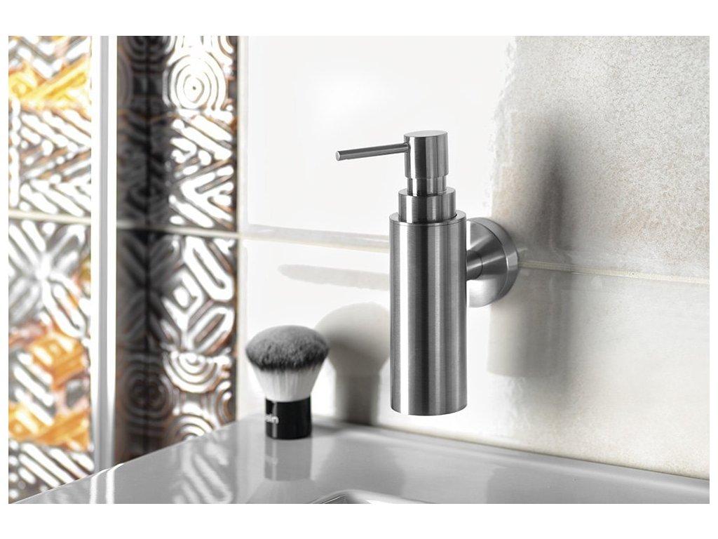 X-STEEL dávkovač mýdla 150ml, broušený nerez