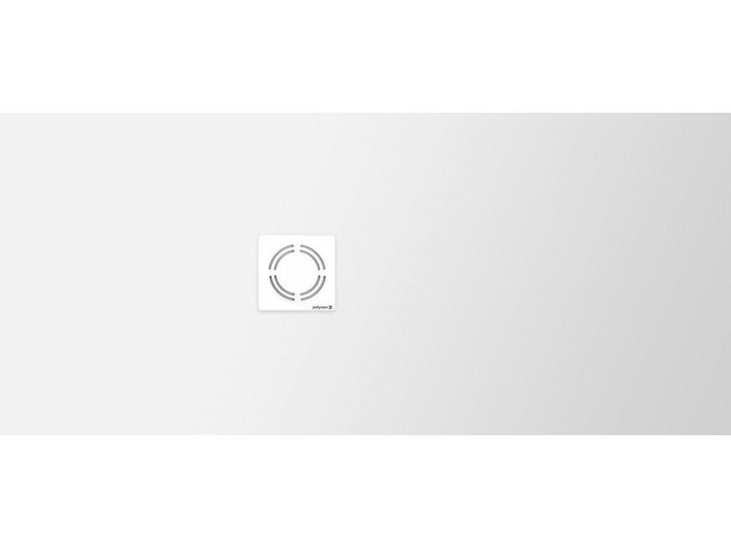FLEXIA vanička z litého mramoru s možností úpravy rozměru, 170x75x3,5cm
