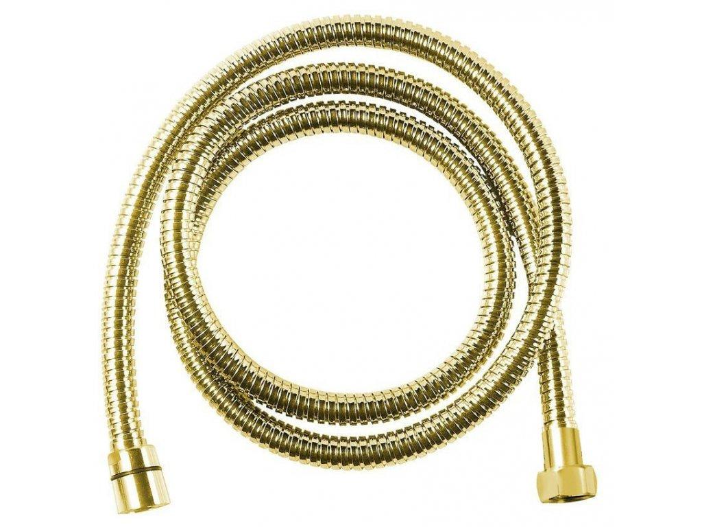 Sprchová hadice, 175 cm, zlato