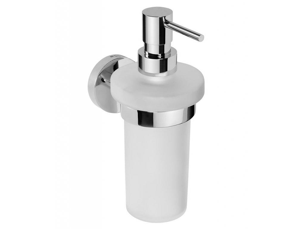 X-ROUND dávkovač mýdla 230ml, chrom