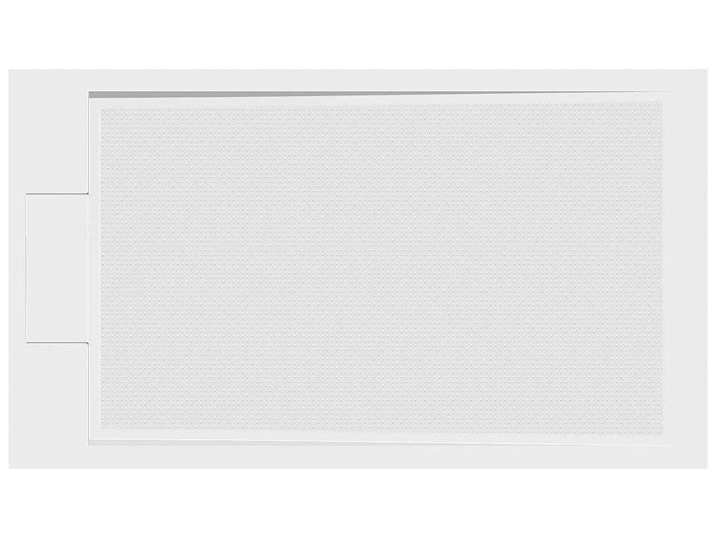 EMA sprchová vanička z litého mramoru, obdélník 120x80x3 cm