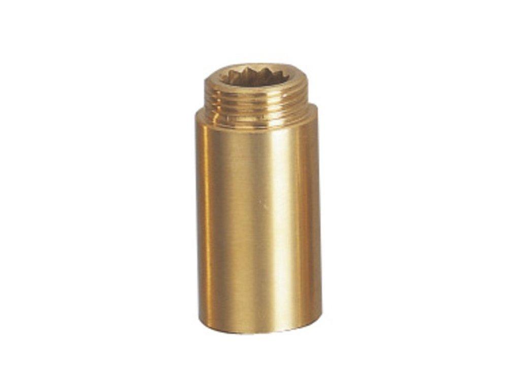 Prodloužení 1/2'x80mm, mosaz