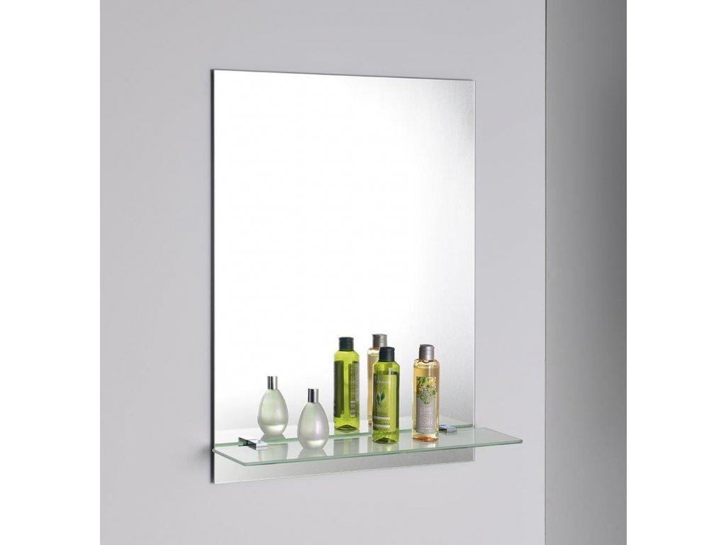Zrcadlo 50x70cm, včetně závěsů, s otvory pro polici