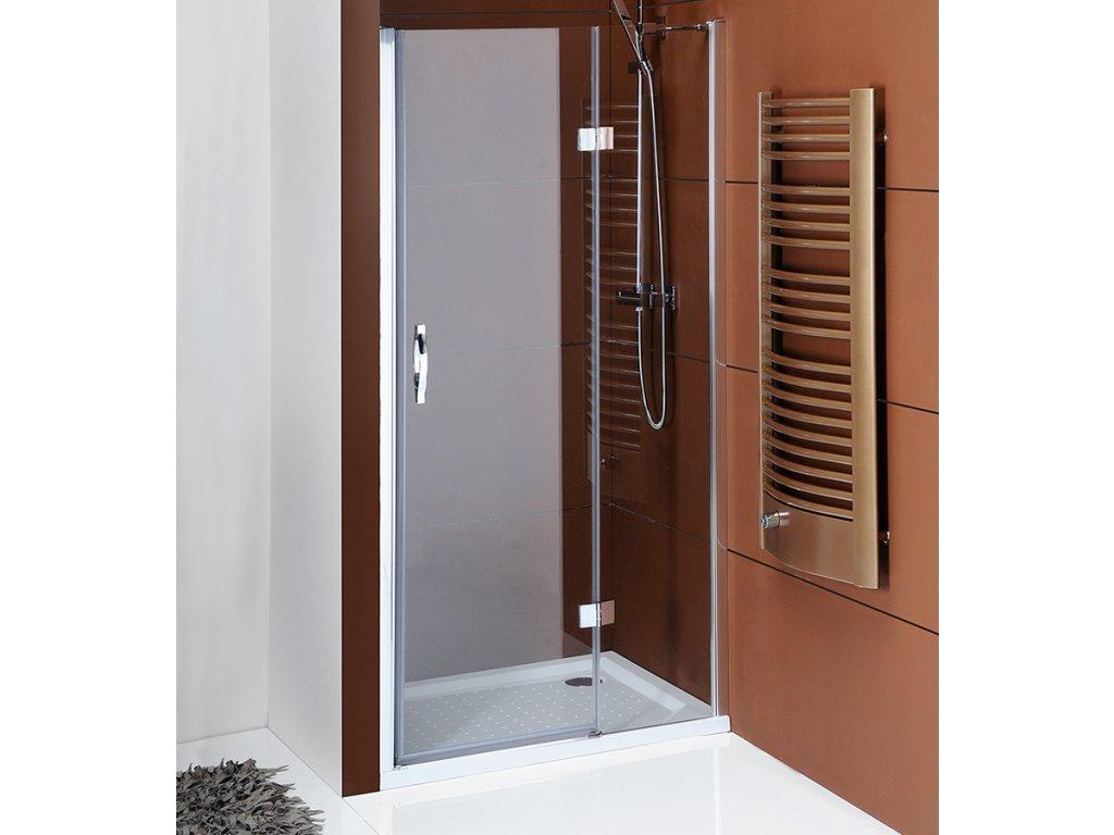 LEGRO sprchové dveře do niky 1000mm, čiré sklo