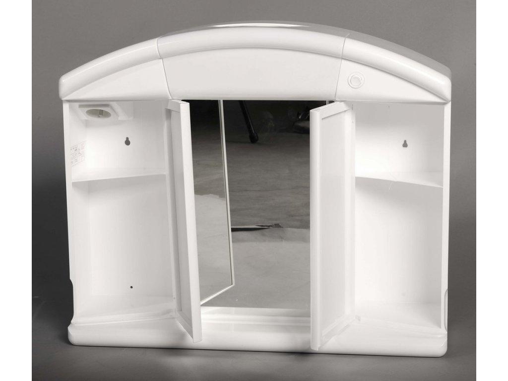 SALVA galerka 59x50x15,5cm, 1x12W, bílá plast