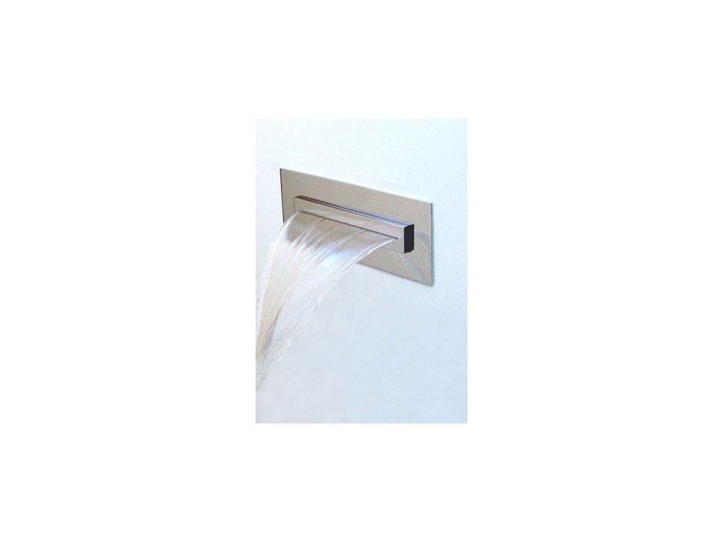 Vodopád Stream-hranatý k zápustné instalaci do sprchových koutů 240x90x57mm