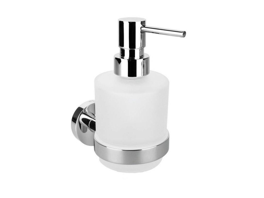 X-ROUND dávkovač mýdla MINI 200ml, chrom