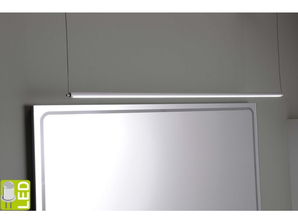 FROMT LED závěsné svítidlo 47cm 7W, hliník