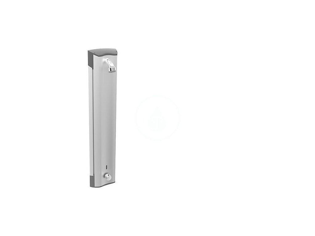 Bezdotykový hliníkový sprchový panel s termostatem
