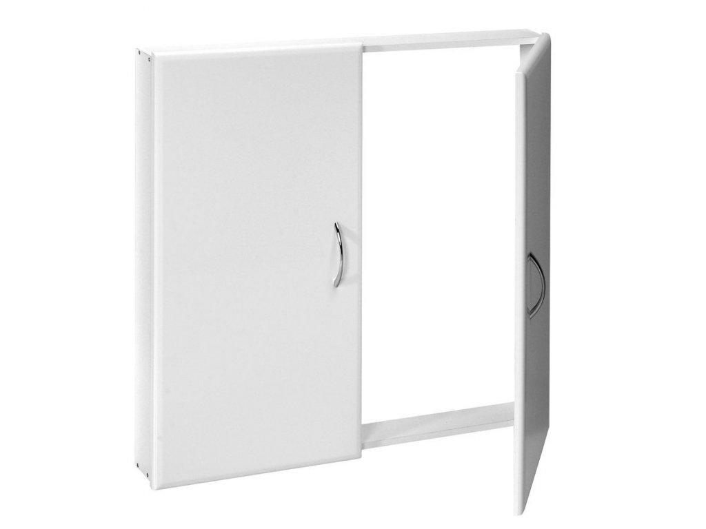 Revizní dvířka, 72x72cm, bílá