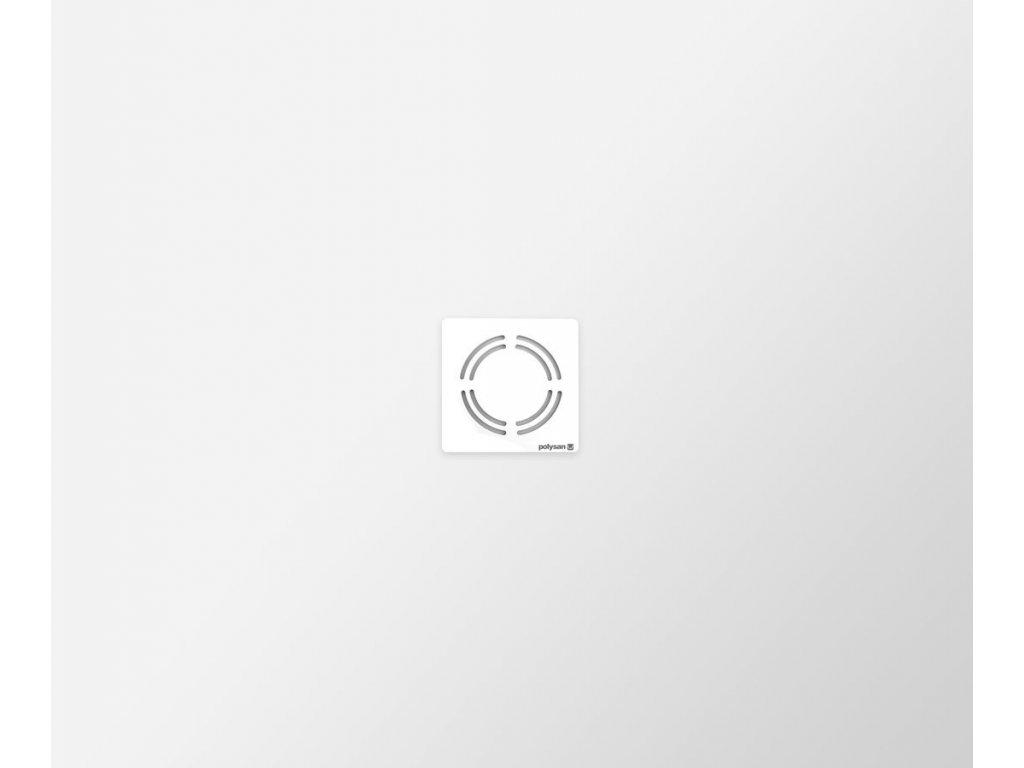 FLEXIA vanička z litého mramoru s možností úpravy rozměru, 120x100x3cm