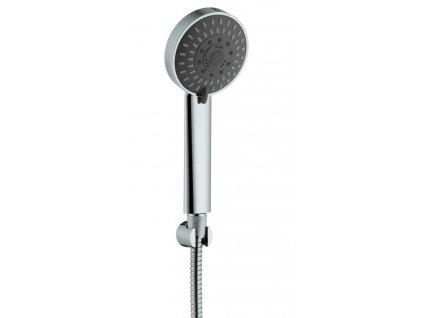 VALY sprchová souprava, pevný držák, chrom