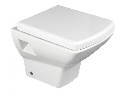 SOLUZIONE závěsná WC mísa, 35x50,5cm, bílá