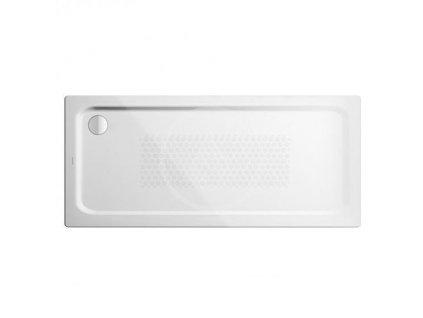Sprchová vanička Superplan XXL 410-2, 750x1400 mm, antislip, Perl-Effekt, polystyrénový nosič, bílá