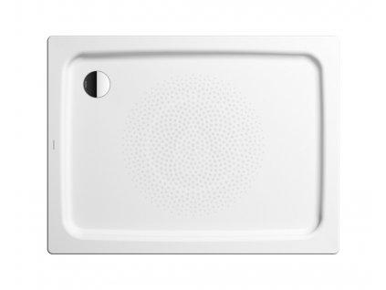 Obdélníková sprchová vanička Duschplan 415-1, 700x1200 mm, antislip, Perl-Effekt, bez polystyrénového nosiče, bílá