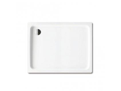 Obdélníková sprchová vanička Duschplan 417-1, 750 x 1200 mm, bílá - sprchová vanička, bez polystyrénového nosiče