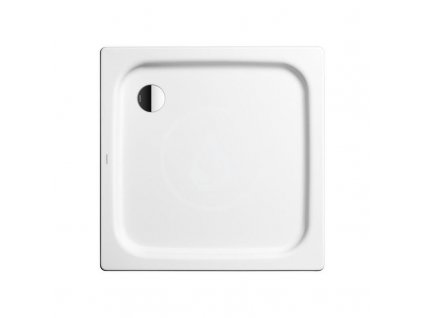 Obdélníková sprchová vanička Duschplan 418-1, 900 x 1000 mm, bílá - sprchová vanička, Perl-Effekt, bez polystyrénového nosiče