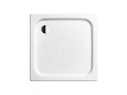 Obdélníková sprchová vanička Duschplan 418-1, 900 x 1000 mm, bílá - sprchová vanička, antislip, bez polystyrénového nosiče