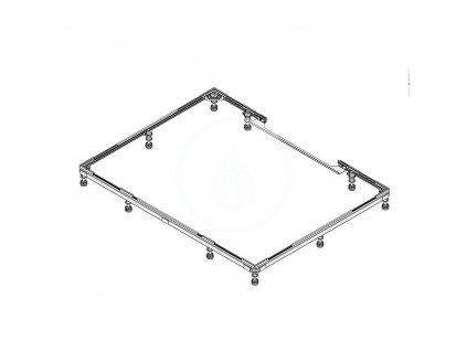 Instalační rám FR 5350, pro vaničky Xetis, 1200x1200 mm