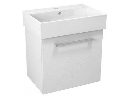 NATY umyvadlová skříňka 56,5x50x40cm, bílá (NA061)