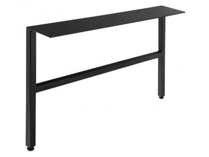 AMIA podpěrné nohy 60x240-250x430mm, lakovaná ocel, černá mat, 2ks