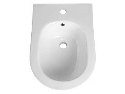 AVVA bidet závěsný 35,5x53 cm, bílá