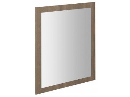 LARGO zrcadlo v rámu 600x800x28mm, ořech bruno