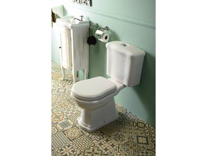 Kombi WC Retro,zadní odpad