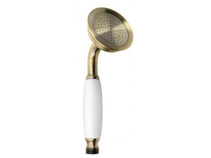 EPOCA ruční sprcha, 180mm, mosaz/bronz