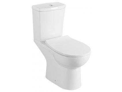 KAIRO WC kombi s bidet. sprškou, zadní odpad, bílá