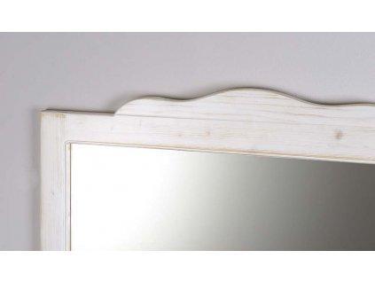 RETRO zrcadlo 89x115cm, starobílá