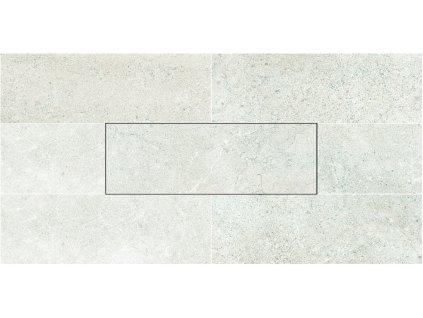 Aspen Dlažba 10x30 cm , barva  Snow