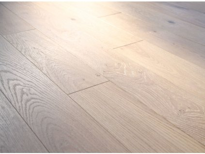 Princ Parket Oak BIANCO Brushed White Wood Floor 101
