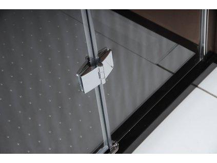 LEGRO sprchové dveře 1100mm, čiré sklo