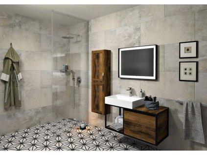 ARCHITEX LINE kalené sklo, L 1200 - 1600 mm, H 1800-2600 mm, čiré