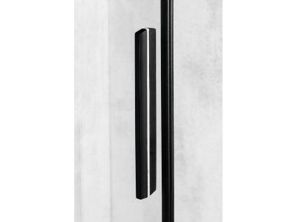 ALTIS LINE BLACK obdélníkový sprchový kout 1000x900 mm, L/P varianta, rohový vstup, čiré sklo